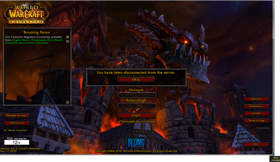 Thank you Blizzard you don't dissapoint at Addon-Launch